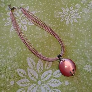 Lovely pink necklace